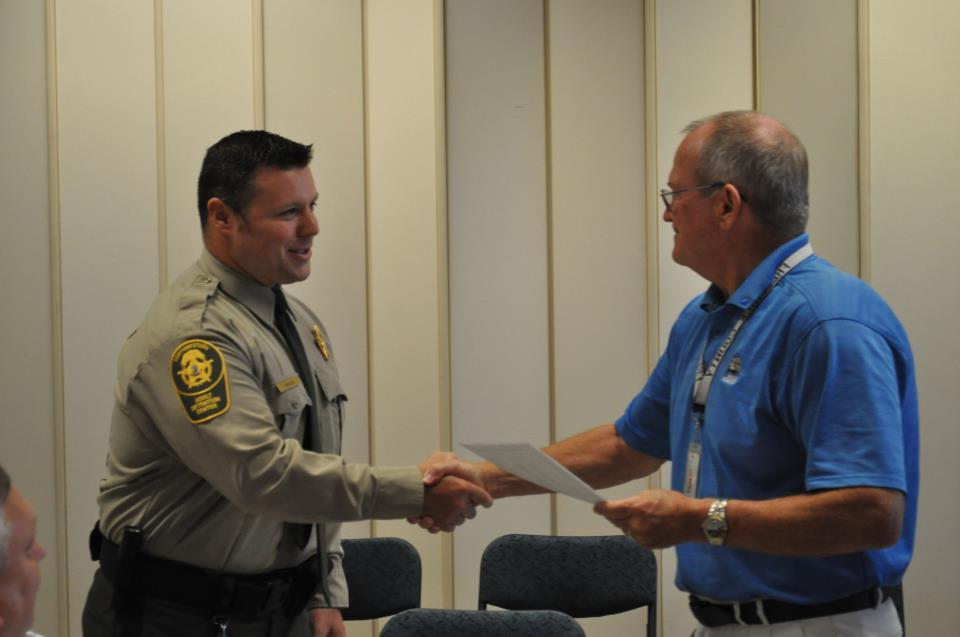 Employee of the Quarter Correctional Officer George Twigg