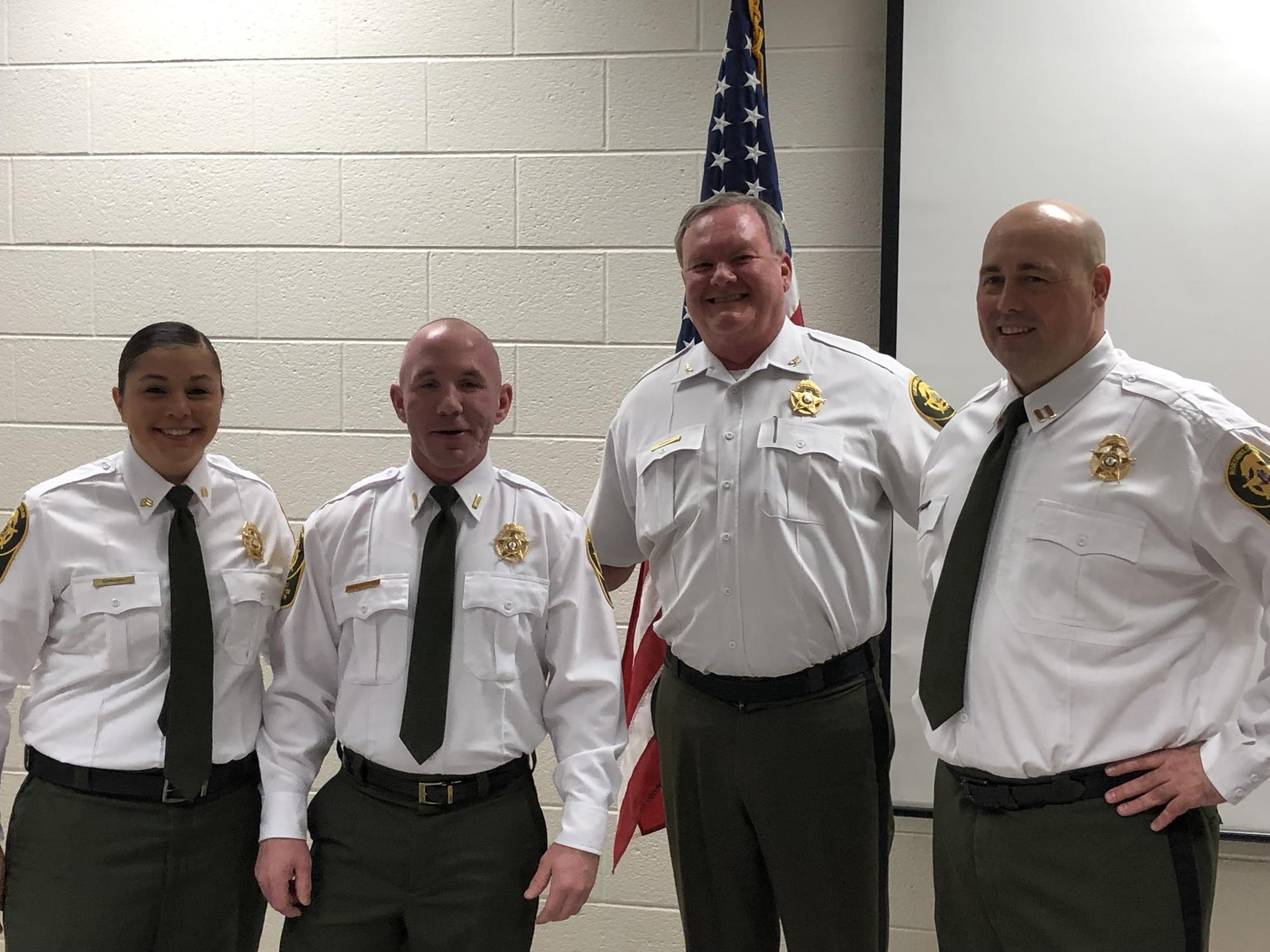 Promotions at the Regional Jail